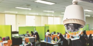 A CCTV camera helps to make working women feel secure/Photo: bytebacklawredesign.lexblogplatform.com
