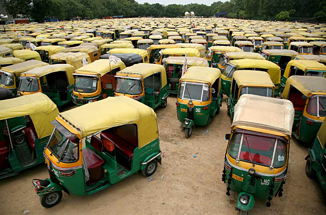 Cap on Auto Rickshaws in Capital to Stay, focus on mass transport, Supreme court Says