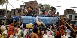 Home to more than 18 million people, Delhi's water consumption is forever on the rise/Anil Shakya