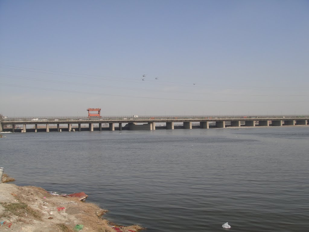 The Delhi Jal Board has asked that the level in Wazirabad reservoir should not be reduced/Photo: mapio.net