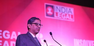 Justice N V Ramana delivering the inaugural address at Legal Leadership Conclave/Photo: Anil Shakya