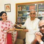 Rajshri Rai, managing director, ENC Group, with former CJI Justice MN Venkatachaliah