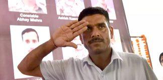 ex-BSF trooper Tej Bahadur Yadav