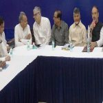 Opposition parties in a meeting (representative image)
