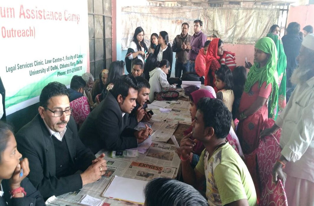 A legal assistance-cum-awareness camp in Delhi. Citizens should not only be aware of their rights but also have sufficient knowledge about various laws/Photo: dslsa.org