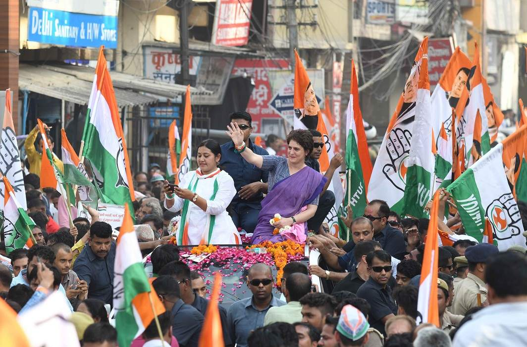 The PIL states that the Congress party uses a flag similar to the national flag/Photo: UNI