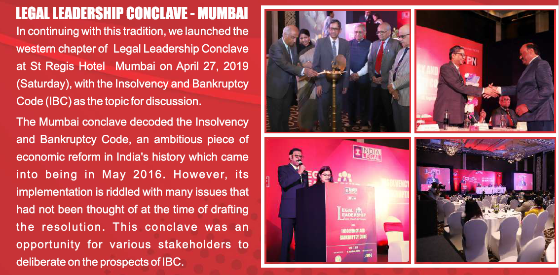 Legal Leadership Conclave - Mumbai