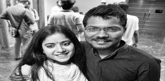 Prashant Kanojia with his wife Jagisha Arora, who moved the SC against his arrest/Photo courtesy: Facebook