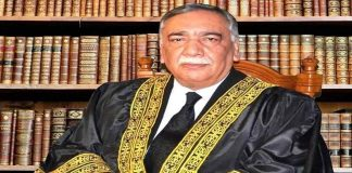 Chief Justice of Pakistan's Supreme Court Asif Saeed Khosa
