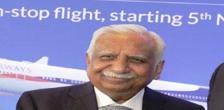 Jet Airways founder Naresh Goyal
