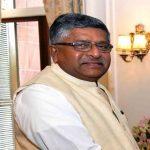 Union law minister RS Prasad