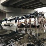 Recently, a bus fell into a canal off the Yamuna Expressway, killing at least 29 people/Photo: UNI