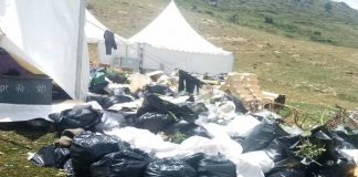 The Gupta weddings in Auli had left over 220 quintals of waste and garbage to be cleared/twitter.com/ANI