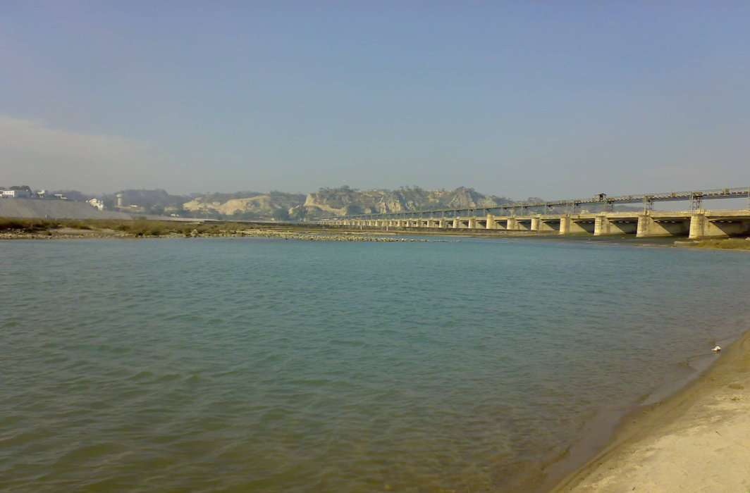Sutlej is one of the rivers whose waters will flow into the SYL Canal. The proposed canal has been a bone of contention between Punjab and Haryana/Photo: indiawaterportal.org