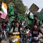 The petitioner said hoisting of the green flag with a crescent and star amounted to sedition/Photo: UNI