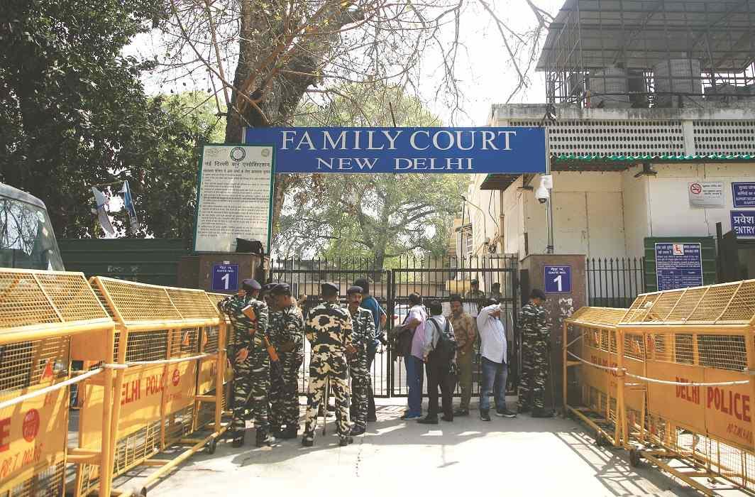 A family court inside the Patiala House Court premises in Delhi/Photo: Anil Shakya