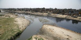 The Hindon, one of UP's most polluted rivers/Photo: Anil Shakya