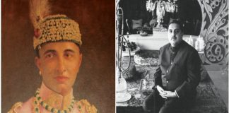 (L-R) The last Nawab of Rampur, Nawab Raza Ali Khan, and his eldest son, Murtaza Ali Khan Bahadur/Photo: geni.com