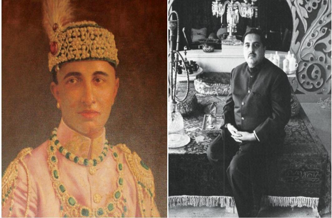 (L-R) The last Nawab of Rampur, Nawab Raza Ali Khan, and his eldest son, Murtaza Ali Khan Bahadur/Photo: geni.com