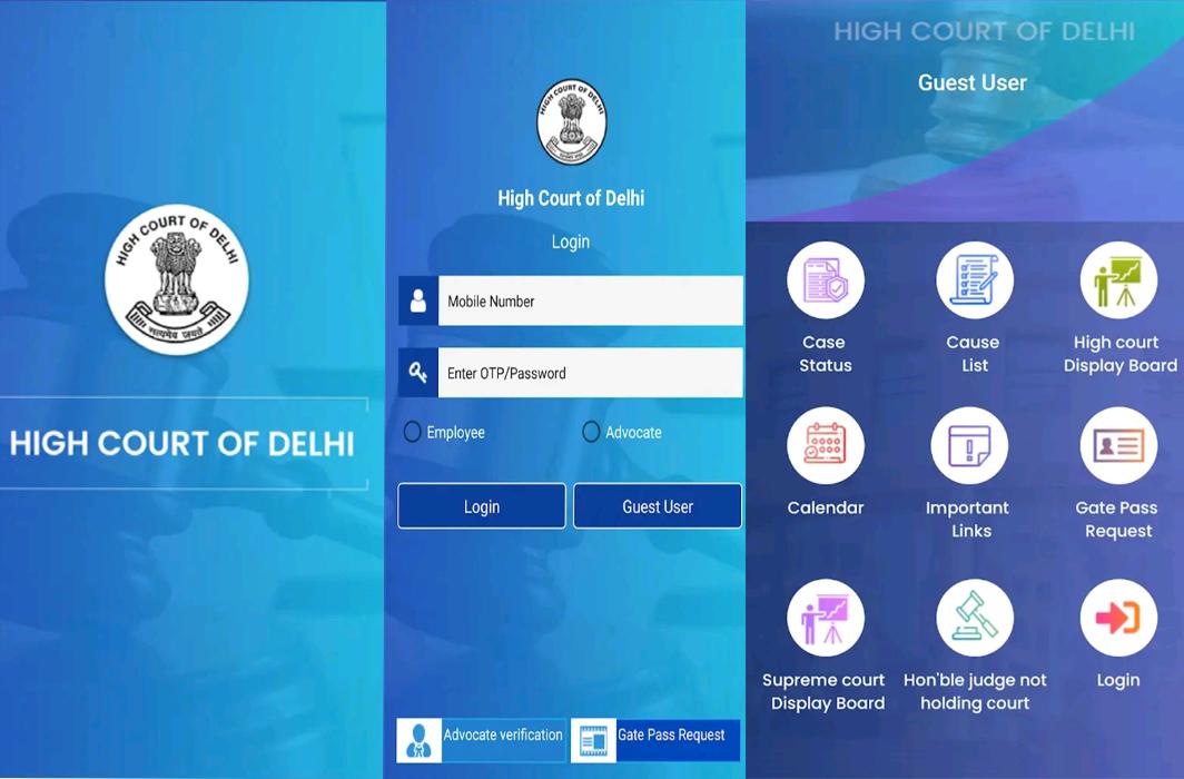 Delhi High Court launches Mobile Application