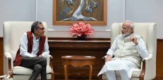 Nobel laureate Abhijit Banerjee with Prime Minister Narendra Modi in New Delhi/Photo: PIB