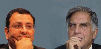 Cyrus Mistry and Ratan Tata
