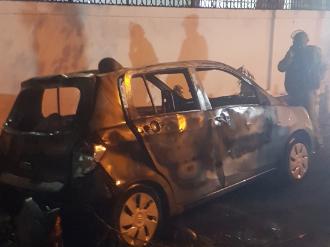 Daryaganj car set on fire in anti-CAA protests