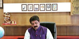Gujarat Assmebly Speaker Rajendra Trivedi