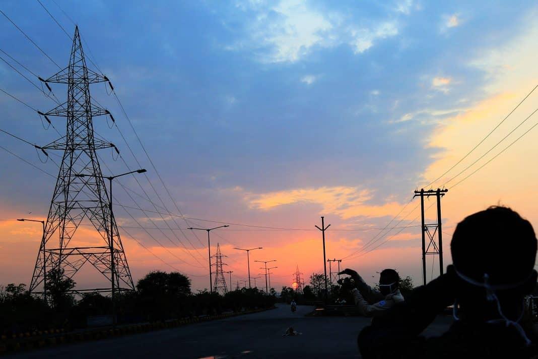 Electricity-poles