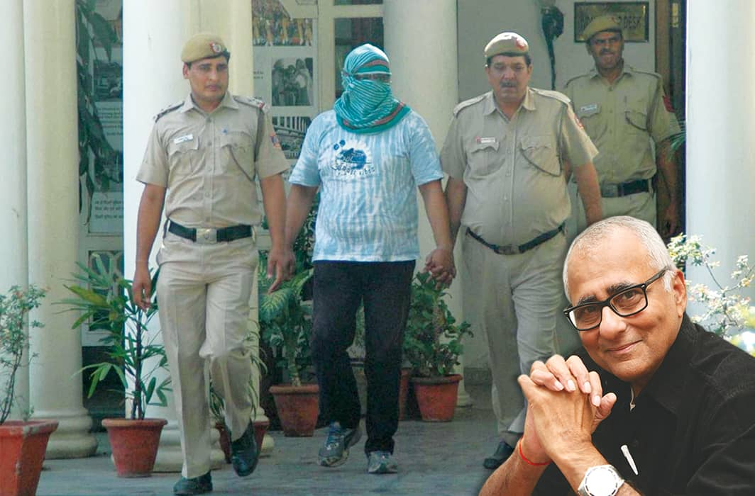 prisoner with delhi cops