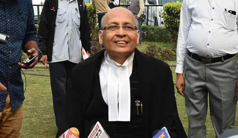 Senior Advocate Abhisekh Manu Singhvi