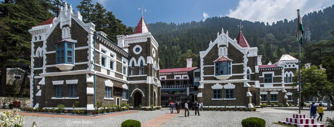 The Uttarakhand High Court building in Nainital