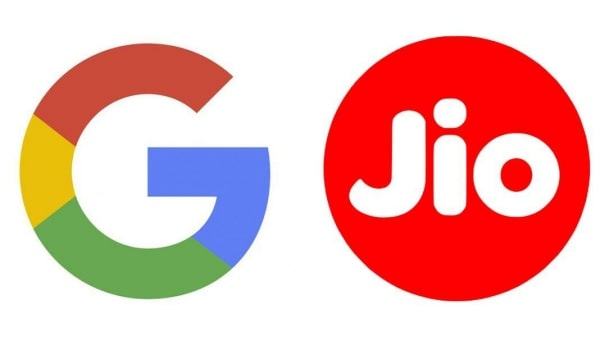 google and jio