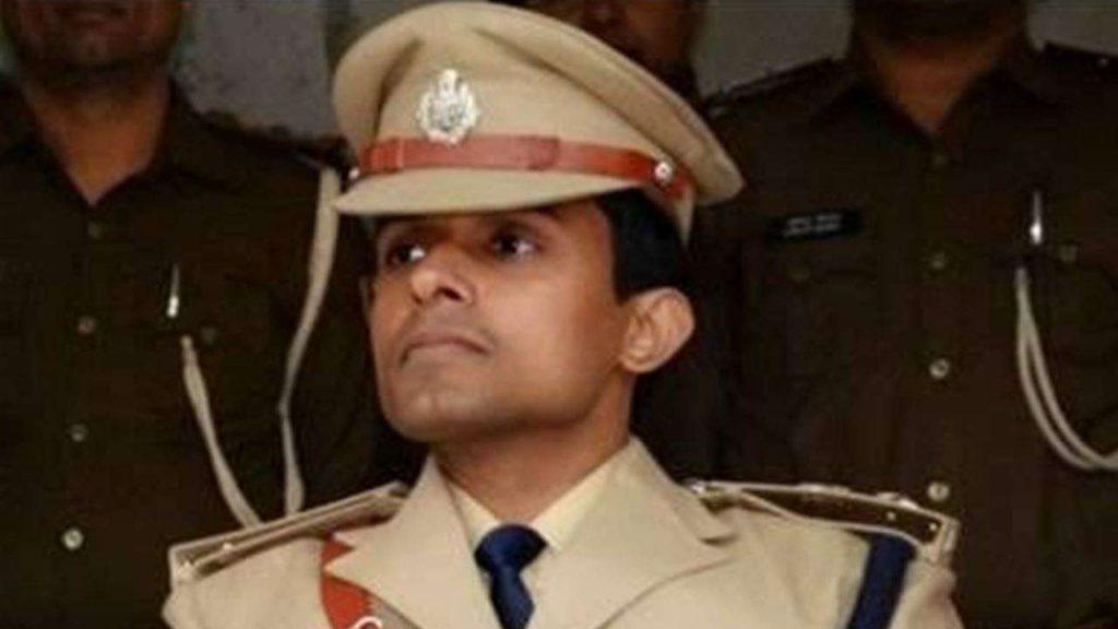 Bihar IPS officer Vinay Tiwari