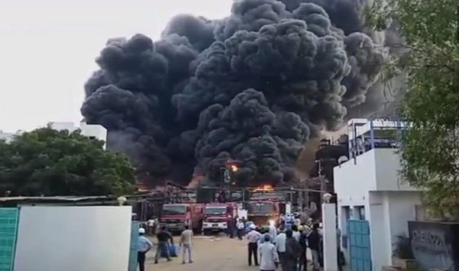 Gujarat chemical plant blast
