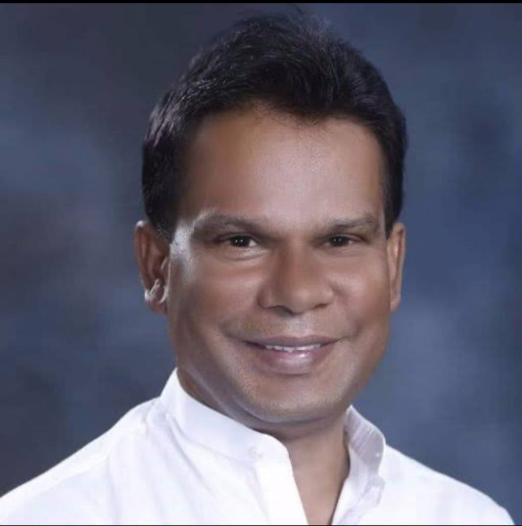 Former Union minister Dilip Ray