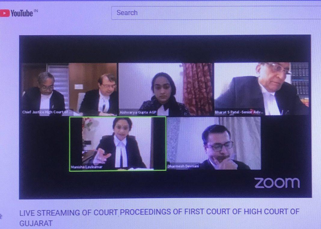 court proceedings over YouTube