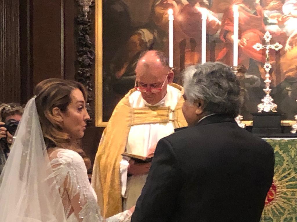Harish Salve gets married to Caroline Brossard