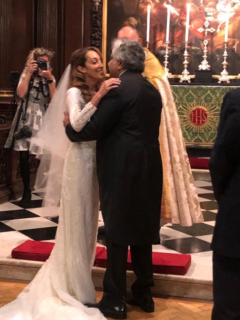 Harish Salve gets married to Caroline Brassard