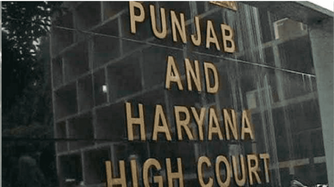 Punjab and Haryana High Court-min