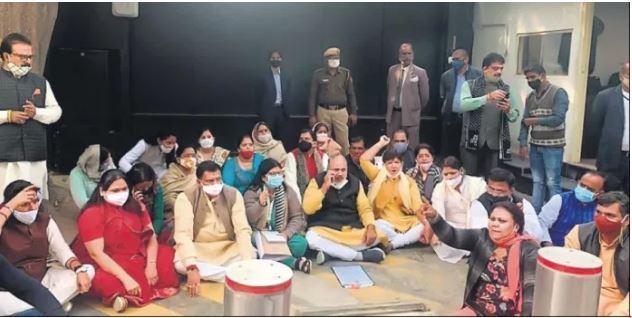 civil lines protest