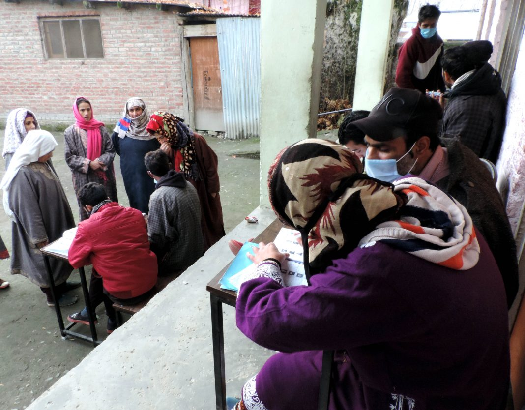 Jammu and Kashmir DDC poll