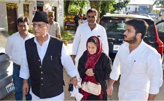 azam khan family