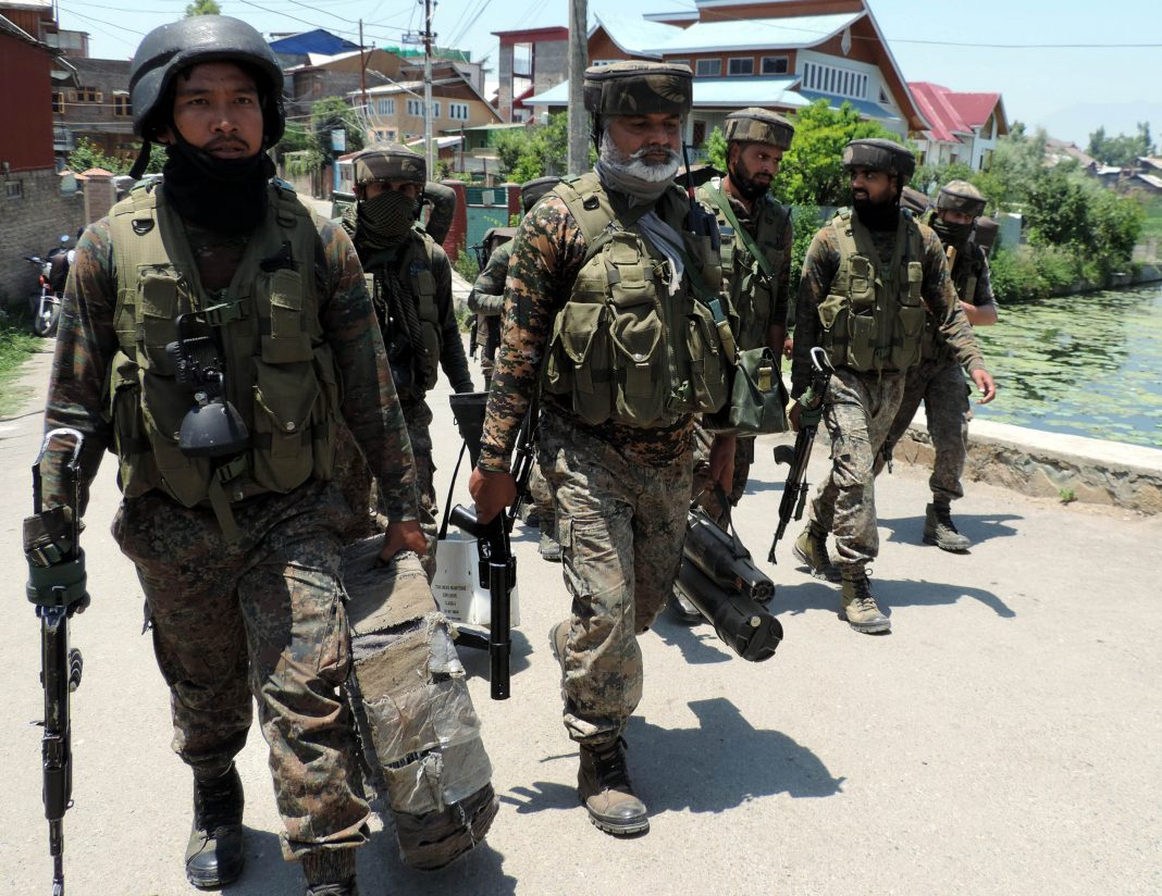 army-and-security-persons-near-encounter-site