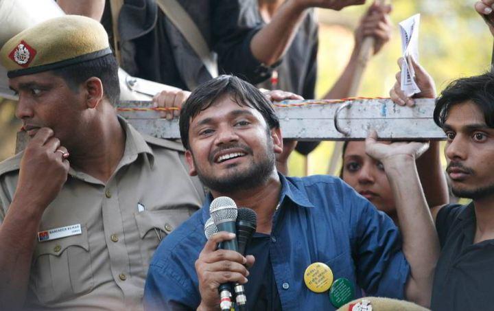 JNU Students Union President Kanhaiya Kumar