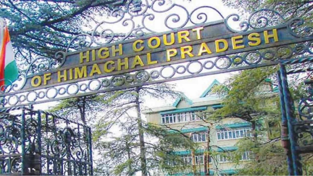 High Court of Himanchal Pradesh