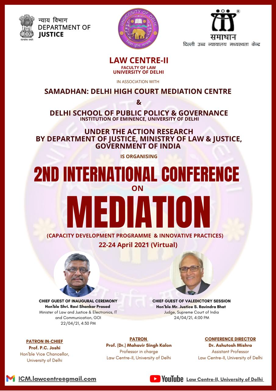 DU Law Faculty's 2nd international conference