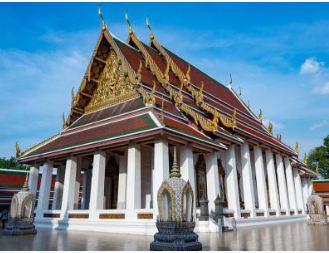 Bangkok Wat Sa Ket temple