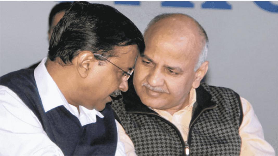 Arvind kejriwal and sisodia-min