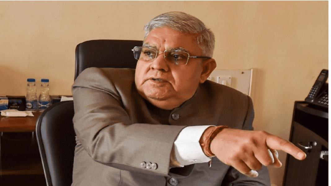 West bengal governer Jagdeep Dhankar-min